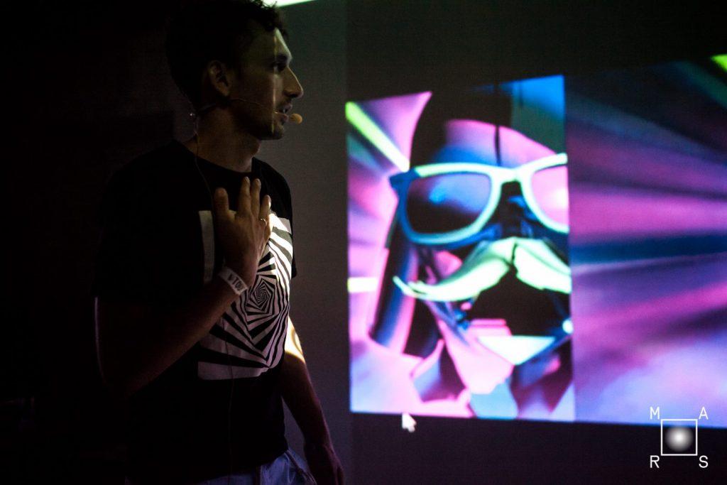 Dmitry Napolnov, lecture.