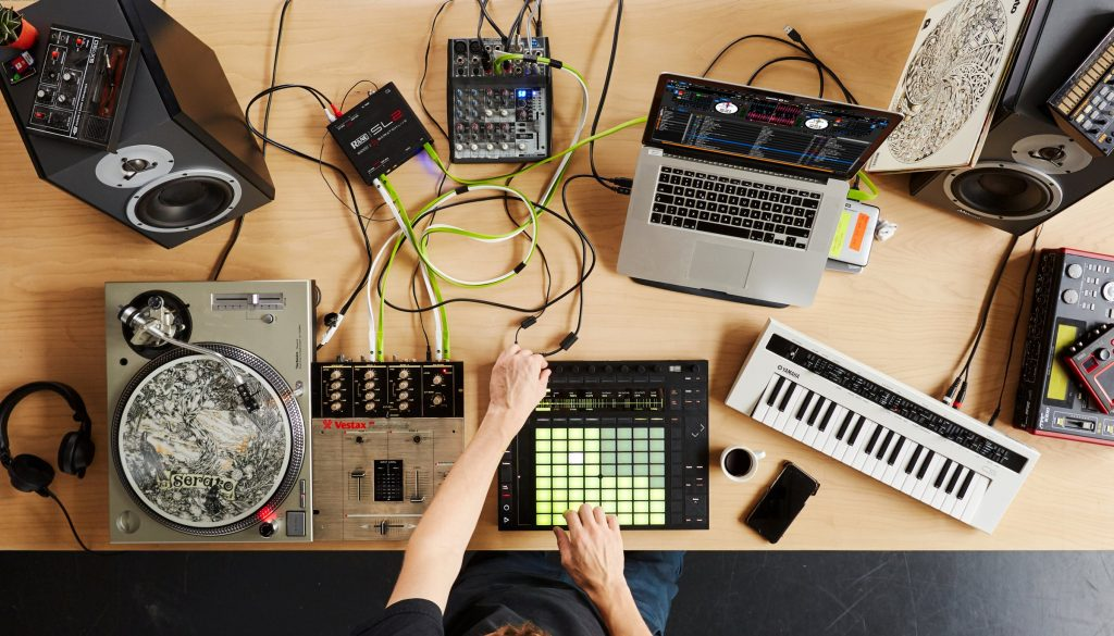 Serato joins Ableton. All photos courtesy Ableton.