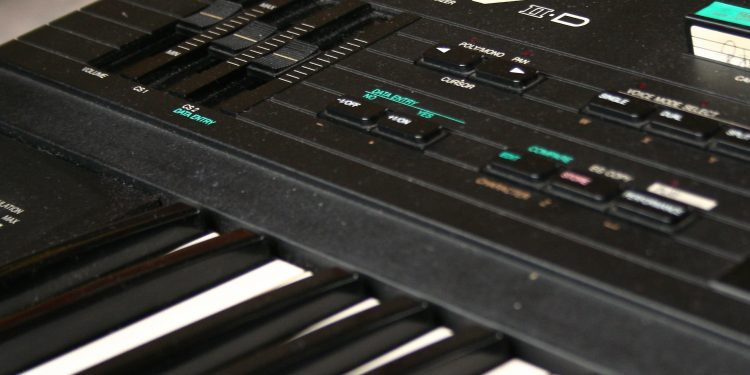 The DX7 - one of three instruments in a new library for Ableton Live. Photo (CC-BY-SA) Bernd Sieker.
