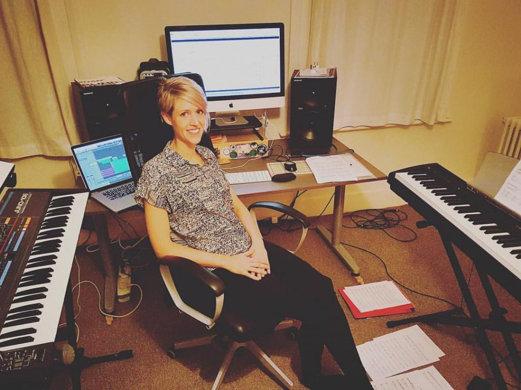 Kate Simko is doing an Instagram takeover on Resident Advisor while she gets ready for a major London concert debut with her ensemble. Photo courtesy the artist.