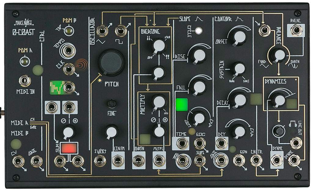Two videos show why the Make Noise 0-COAST modular is cool