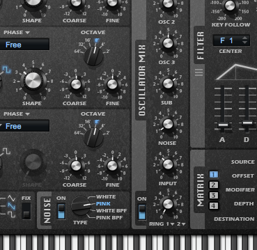 Audio ins for instruments means, for instance, you could sidechain the Retrologue.