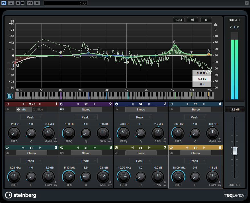 Frequency is the new EQ plug-in.