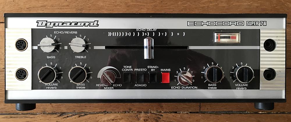 The vintage Super 76 inspired the tape delay model - and is reason alone to take a look at this plug-in.