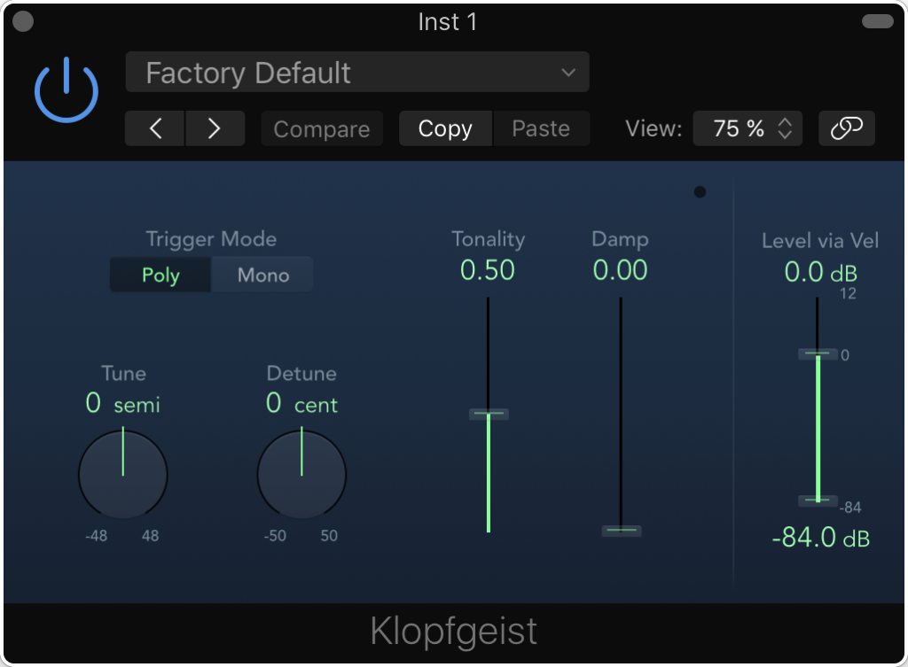 Welcome to the future. Klopfgeist (aka my favorite plug-in name ever) has never looked better.
