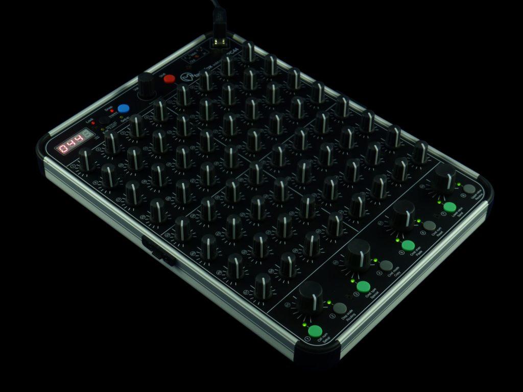 68 pots cover this controller so you can go knob crazy cdm create digital music. Black Bedroom Furniture Sets. Home Design Ideas