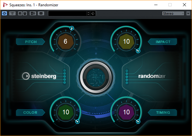 Nuendo 8's Randomizer looks like a nice creative tool - and something very valuable to game scoring.