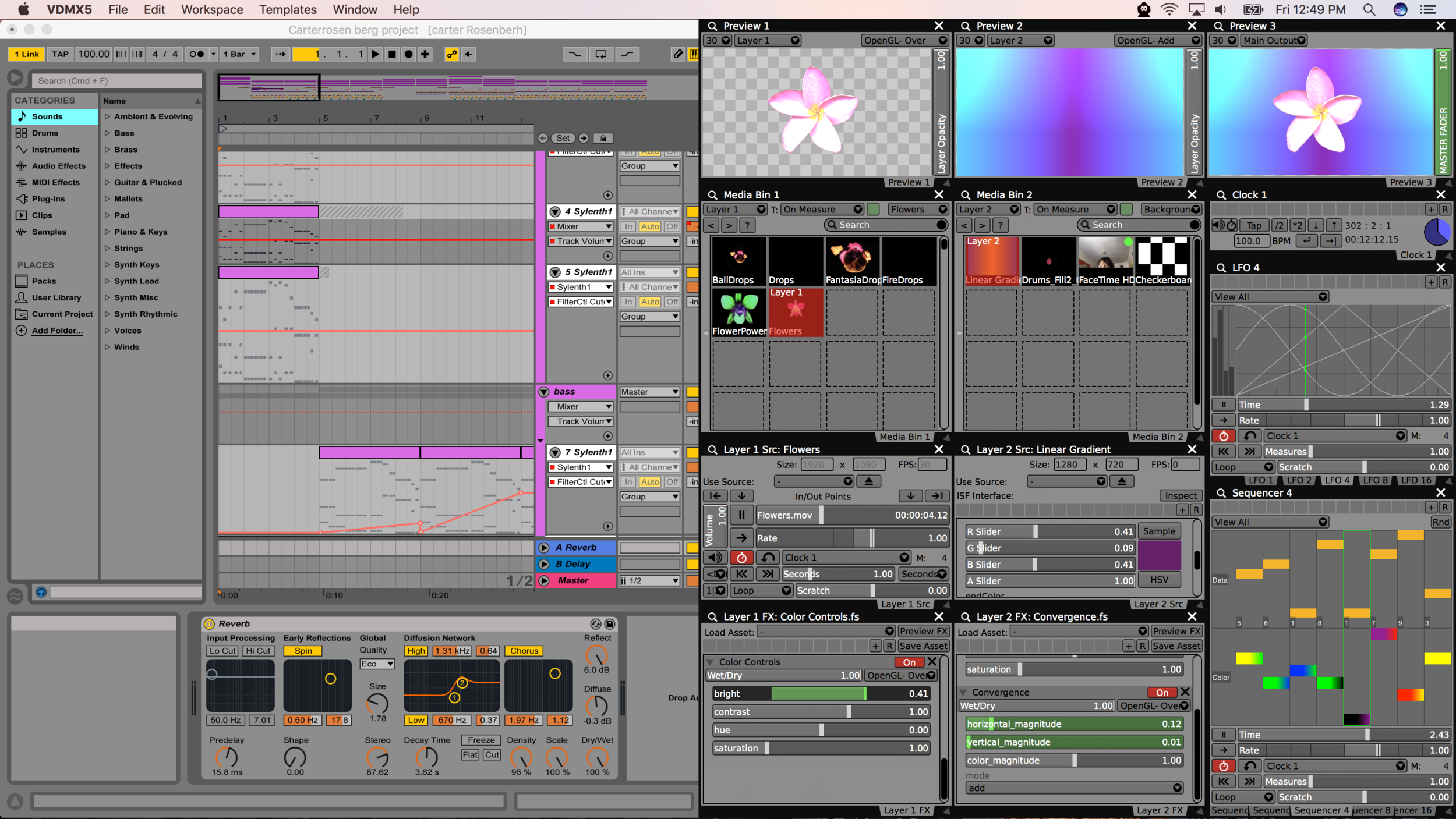 Now you can sync up live visuals with Ableton Link - CDM Create
