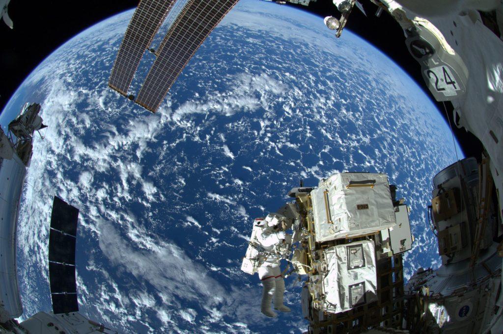 Photo by ESA astronaut Alexander Gerst , from a 2015 spacewalk. Photo source ESA/NASA.