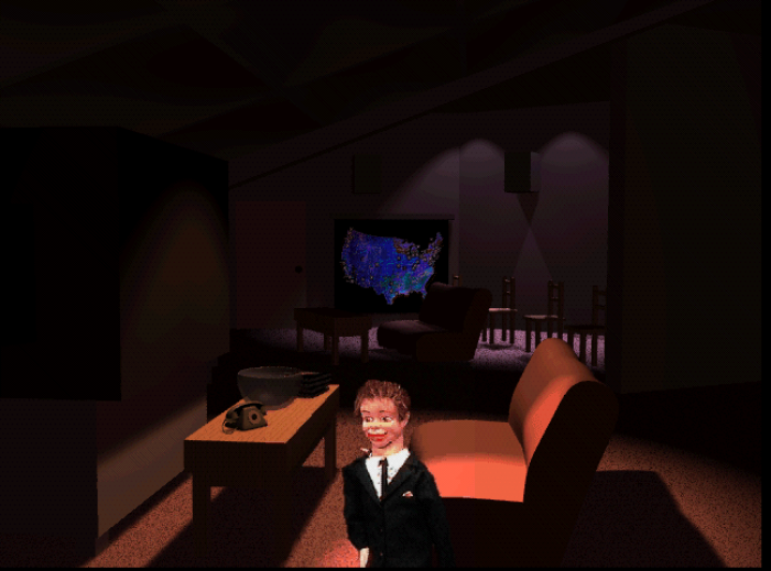 Being led through three dozen virtual rooms by a ventriloquist version of Laurie Anderson finally made me feel like I understood why the computer was invented. But I think I'm not an average person.