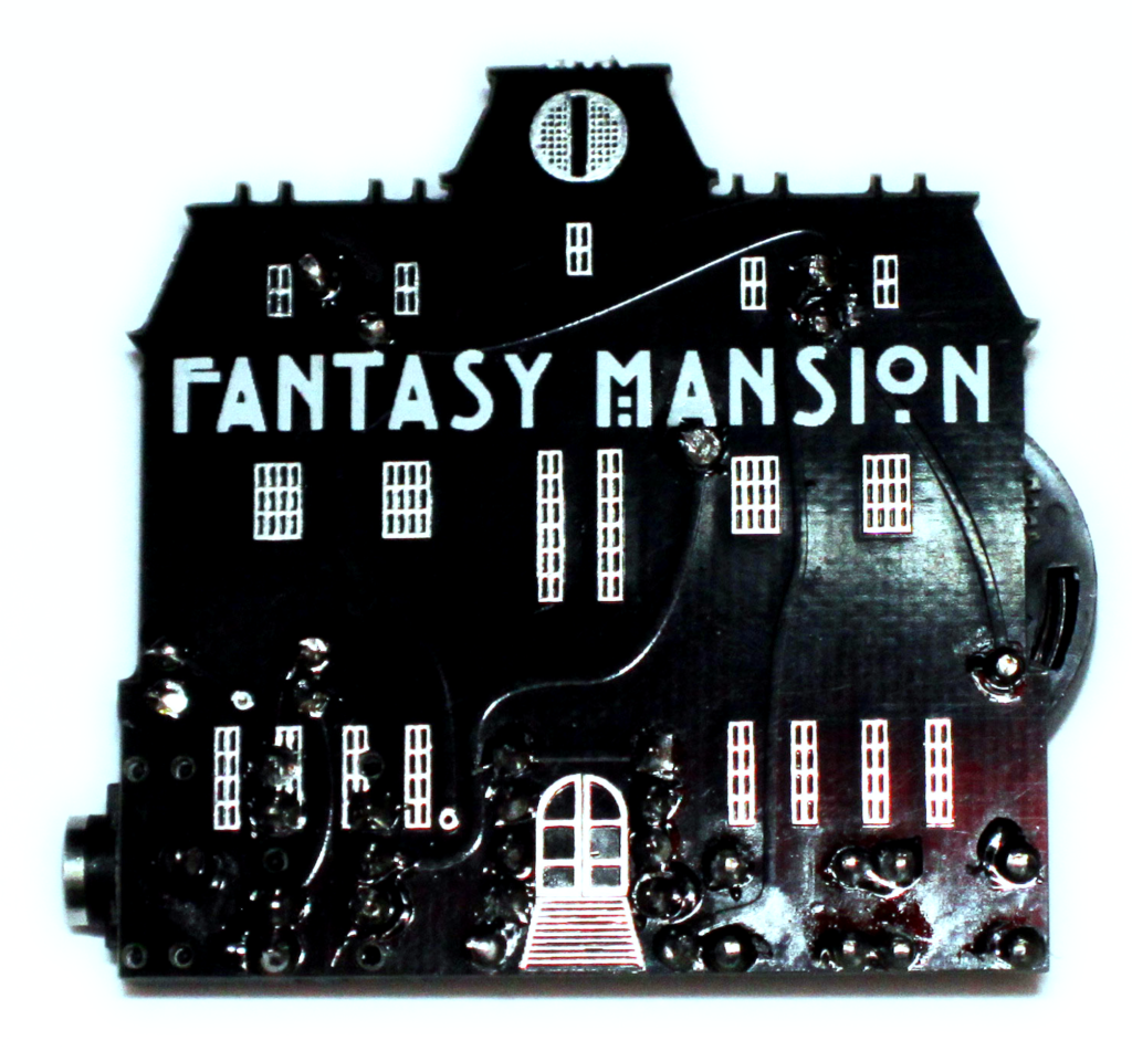 Fantasy Mansion is an EP that's also a generative, 8-bit circuit with sync