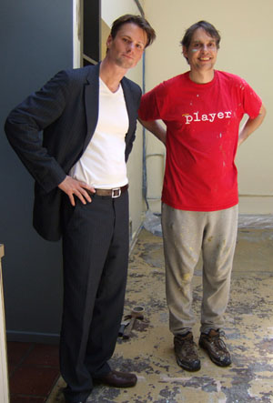 David and Gerhard ten years ago, as the partnership first becomes public.
