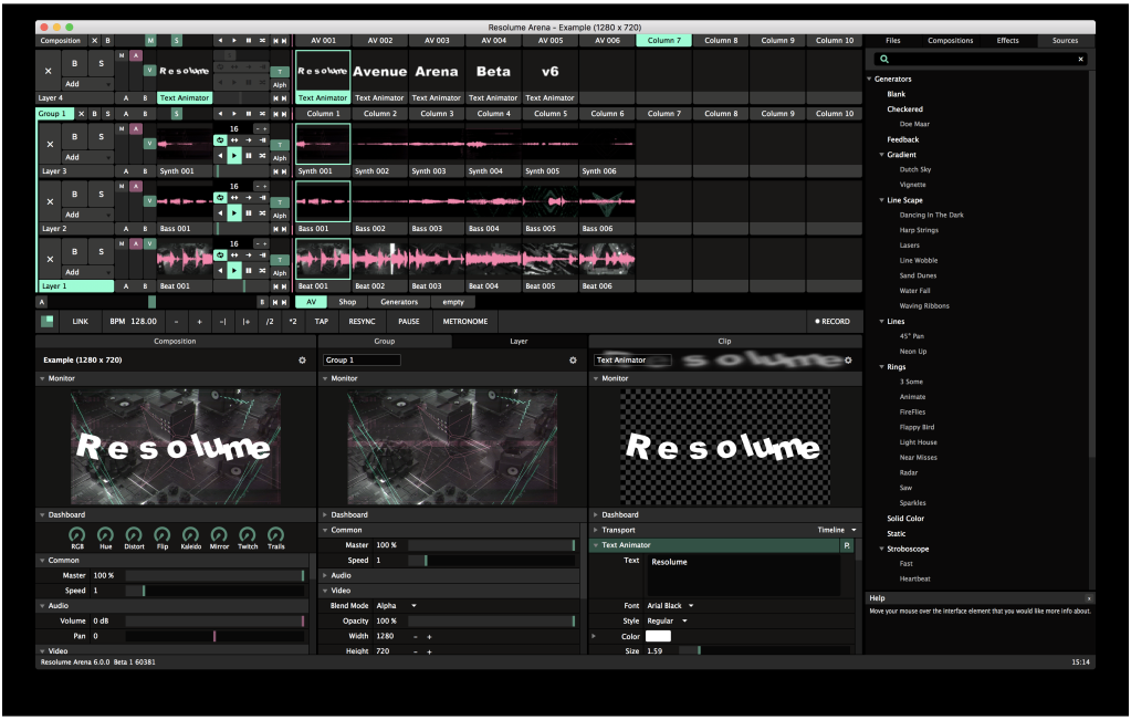 Resolume 6 is big news for VJs and live visualists