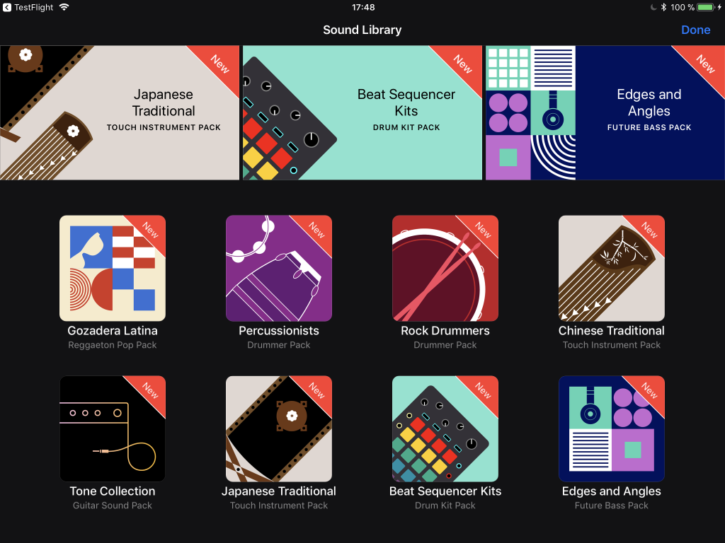 Garageband On Ios Adds Powerful Sequencer And A Lot More Sounds Wind Sound Effects Circuit The New Libraries Browser Interface Yeah That Beat Oriented One Sure Looks Like Novation Just Sayin Flattery