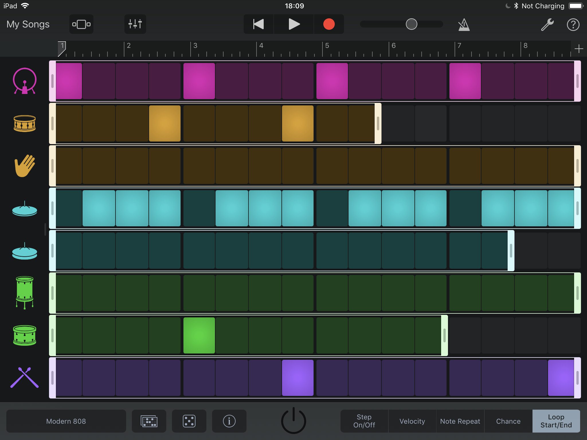 how to create music on garageband iphone