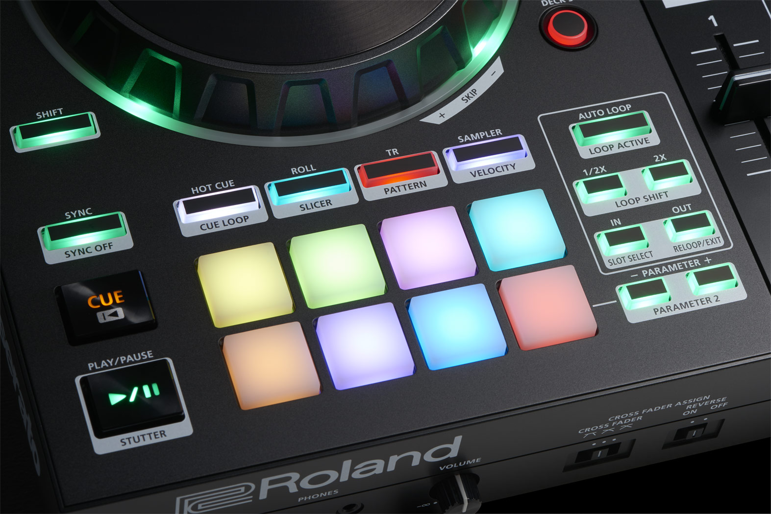 Roland gets you going on their DJ controllers, Serato with free