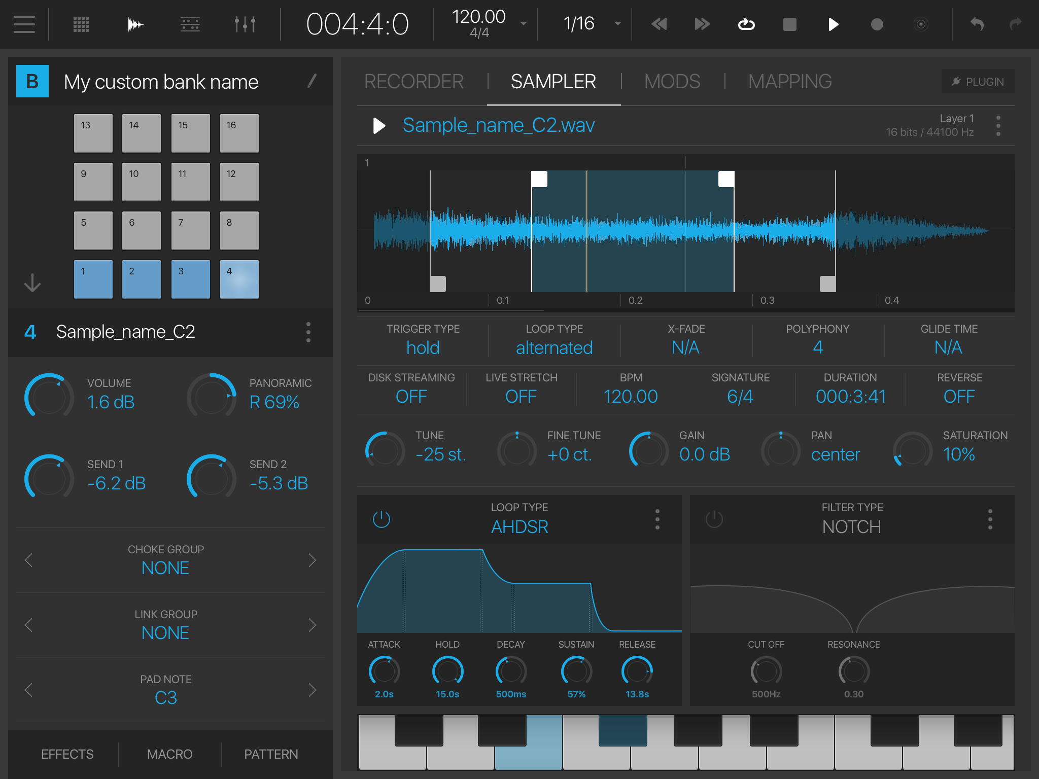 BeatMaker 3 0 8 arrives with support of AUv3 MIDI plugins