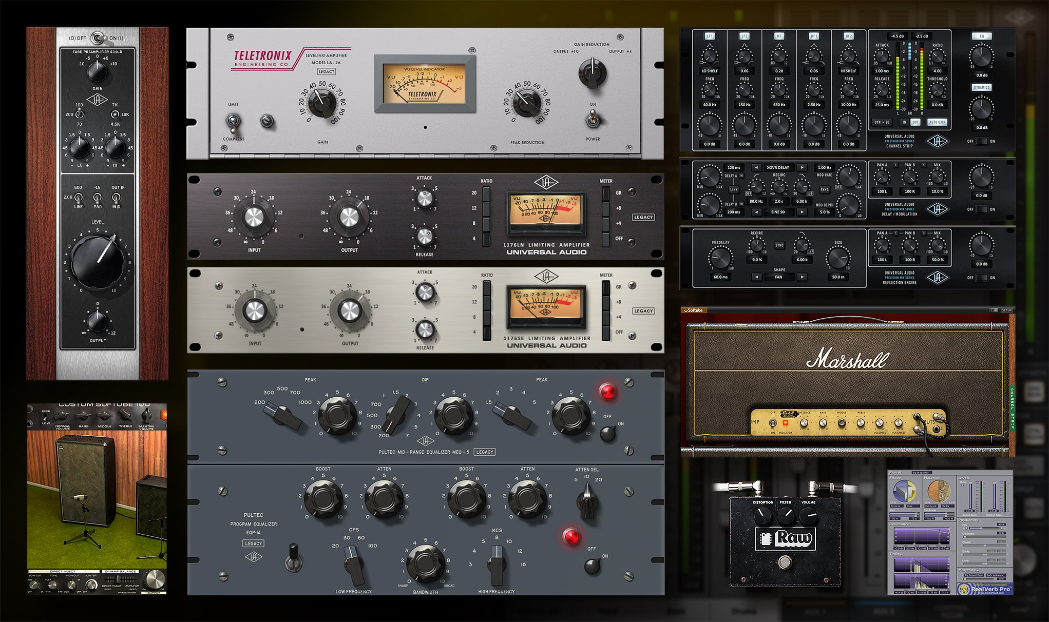 Uad for everybody arrow sound box is thunderbolt pc or mac 499 ah remember the days of expensive hourly studio time meet the bundled analog gear software uad form stopboris Image collections