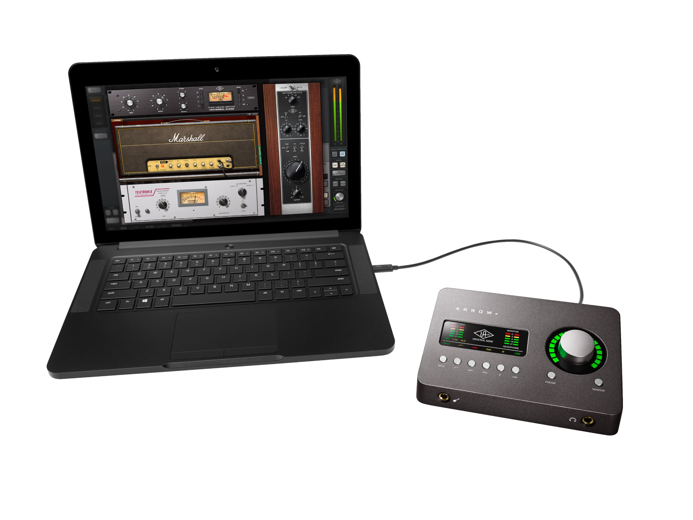 Uad for everybody arrow sound box is thunderbolt pc or mac 499 heres the thing if someone asks you the age old question which audio interface should i buy its actually pretty hard not to mention universal audio stopboris Image collections