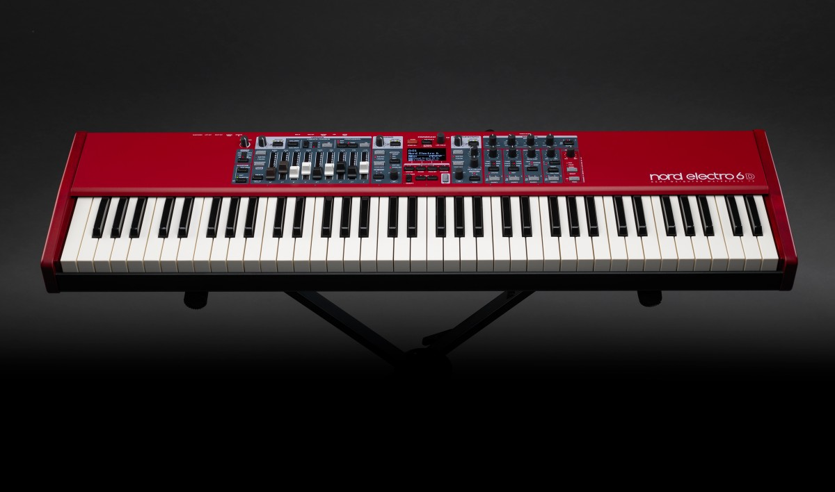 Nord Electro 6: Seamless Transitions, independent Piano