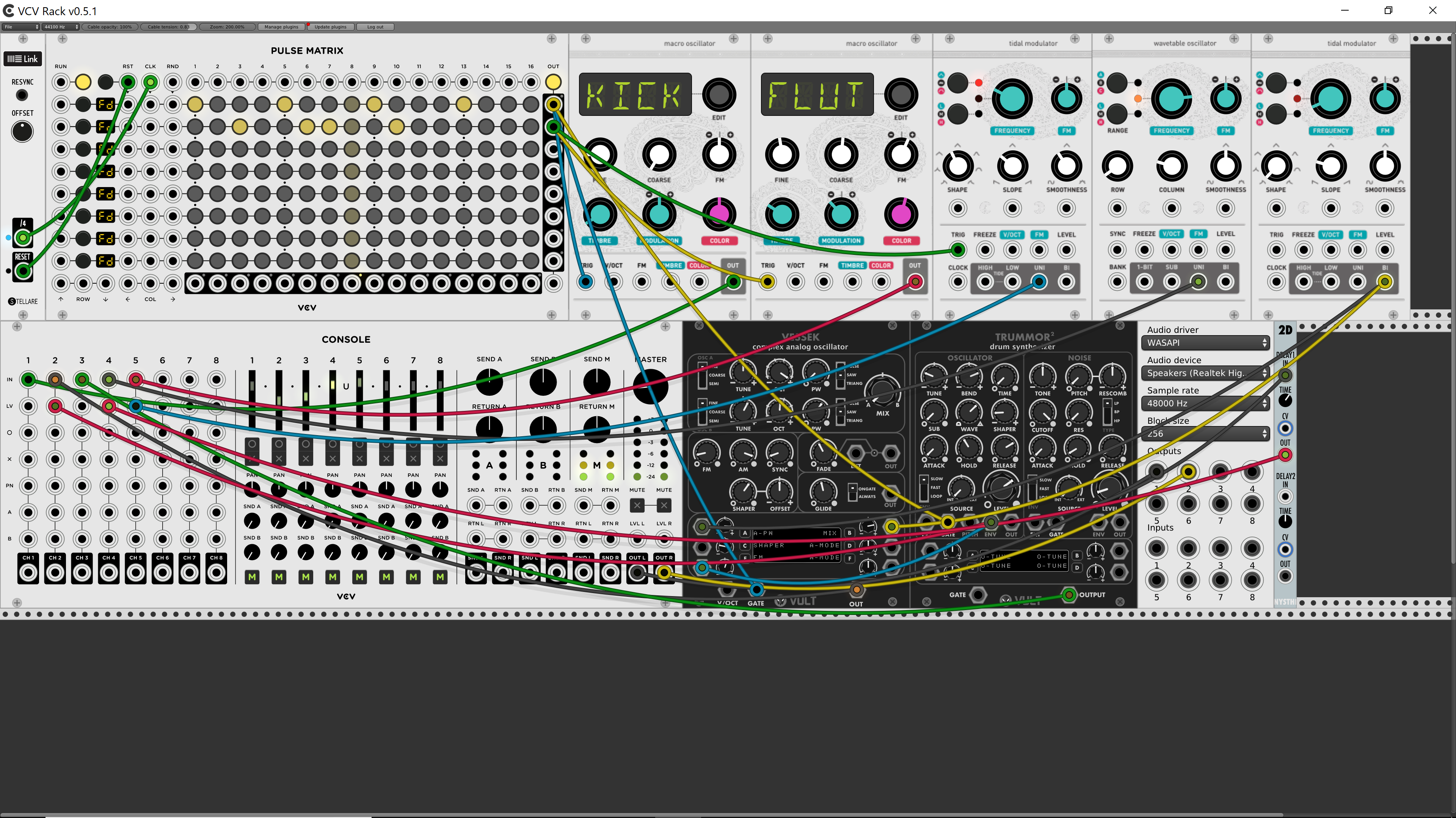 How to make the free VCV Rack modular work with Ableton Link