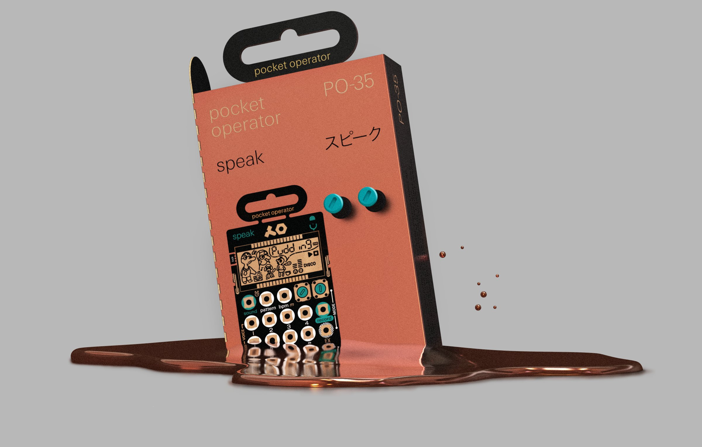 New Teenage Engineering Pocket Operators: Speak, Sample