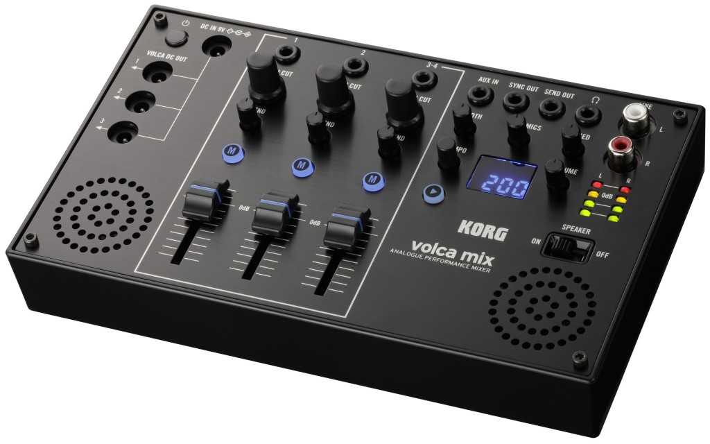 KORG's Volca Mix is the little mixer your compact gear was missing