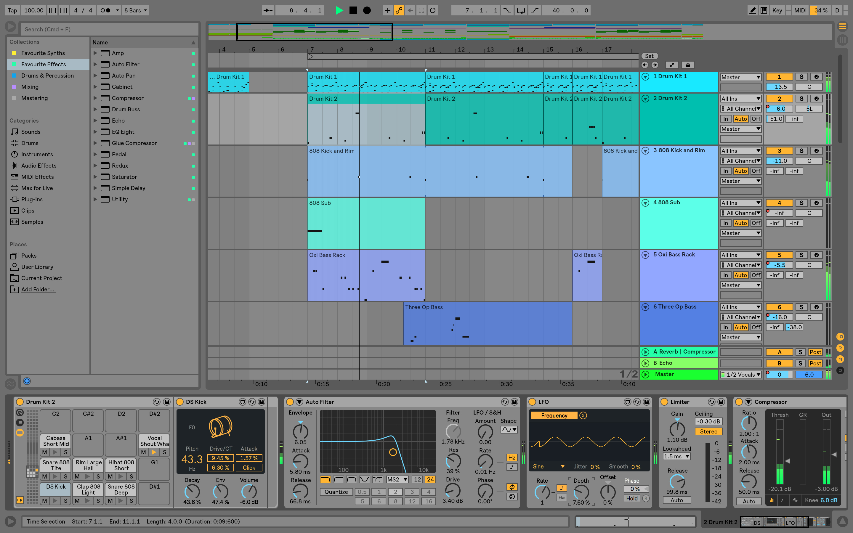 ableton patch cant find pattern