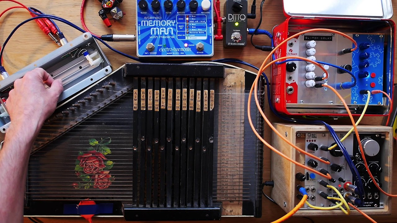 Glitch Delay Is A Diy Module You Can Make And It Makes Lovely N5ese Teensey Noise Generator Schematic Music Cdm Create Digital