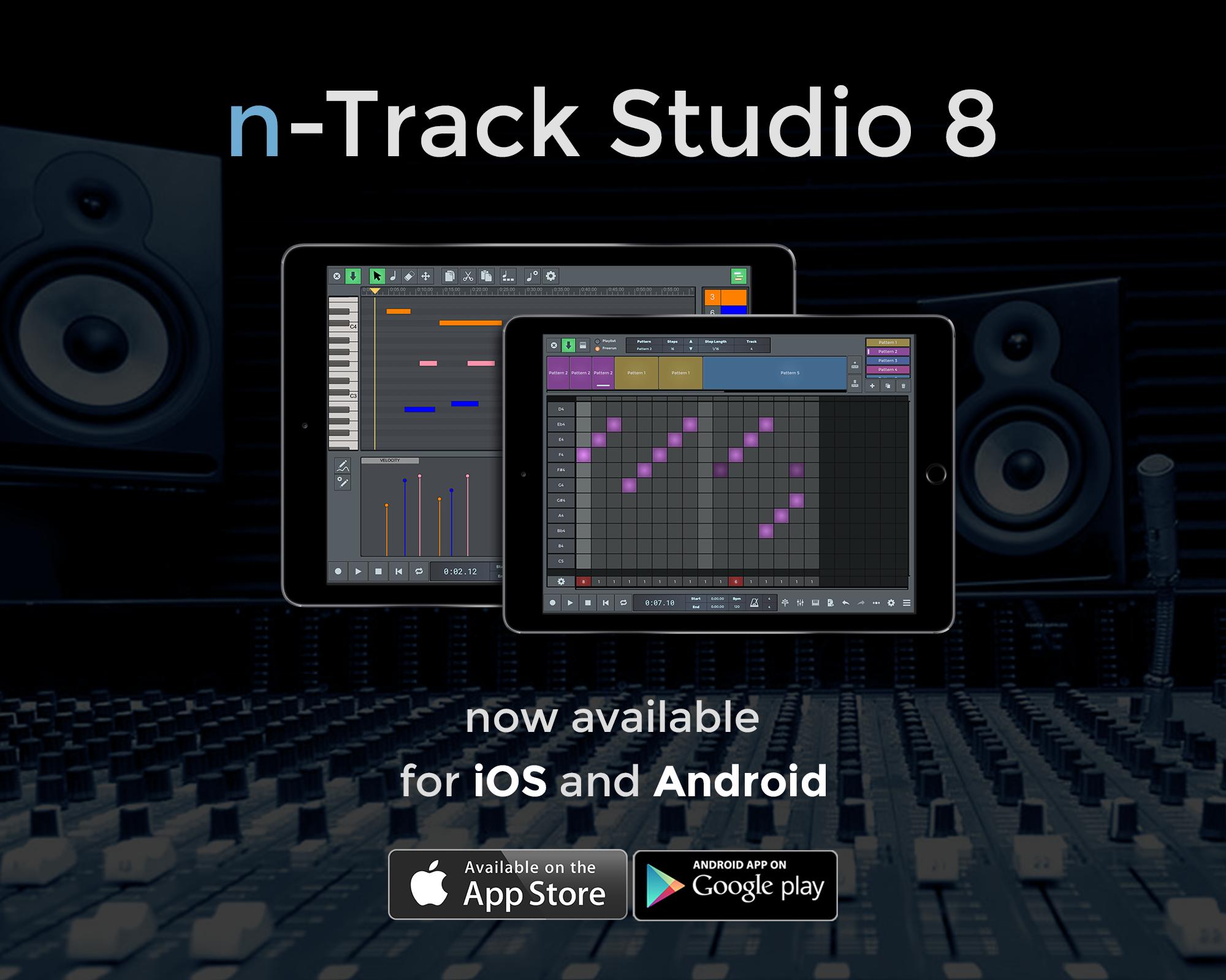 Cross platform DAW n-Track updates for desktop, we wait ...