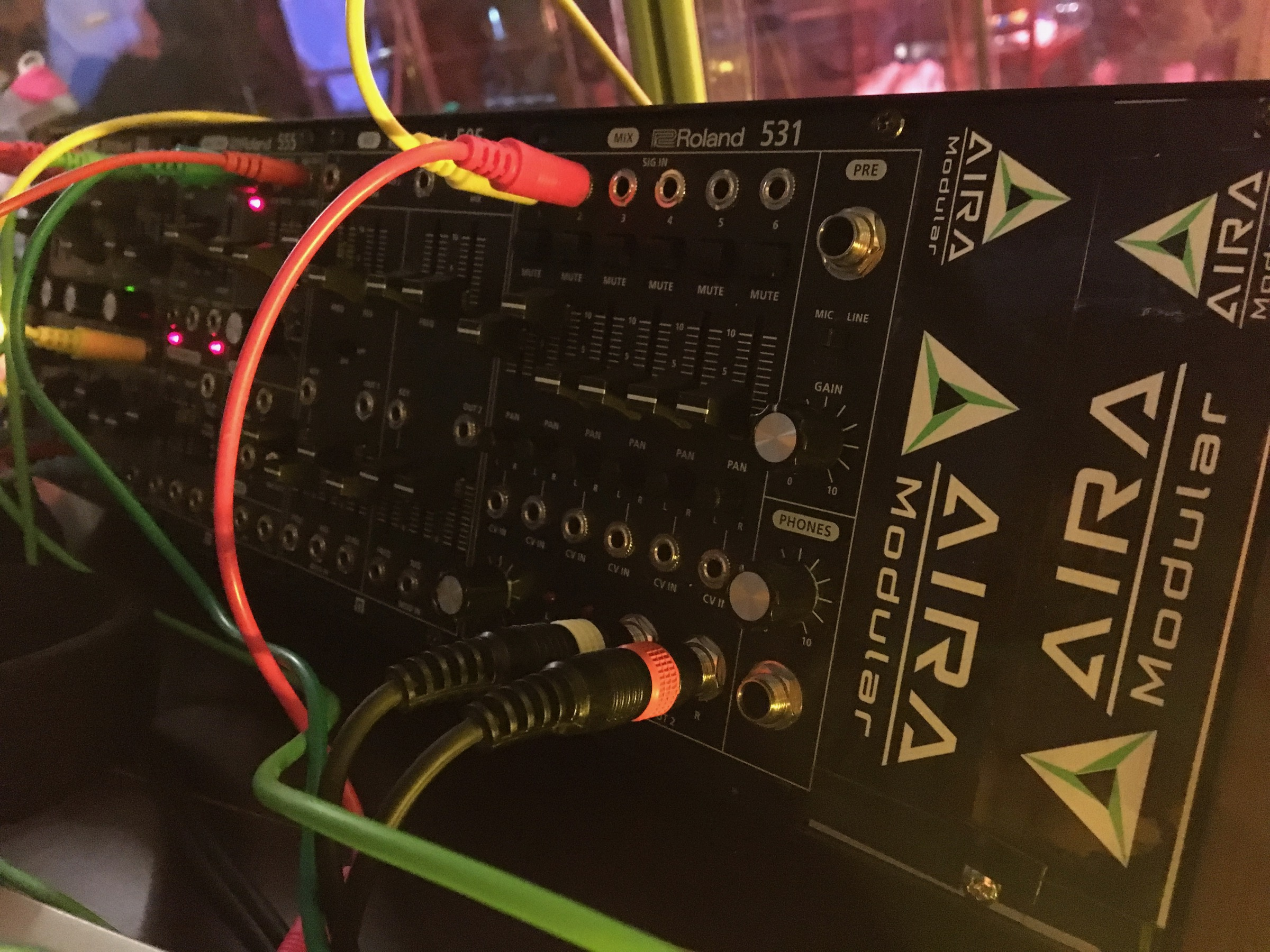 New Roland System 500 Analog Eurorack Modules Spotted In