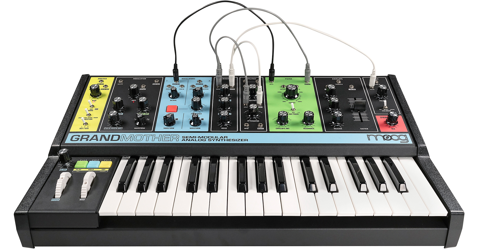 All the details on Moog's new Grandmother semi-modular synth - CDM