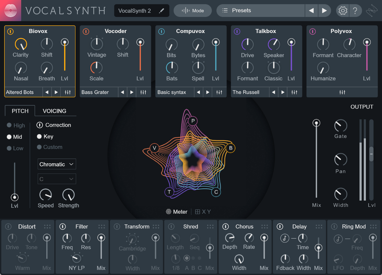 iZotope adds modeling features to Vocal Synth, makes a creative