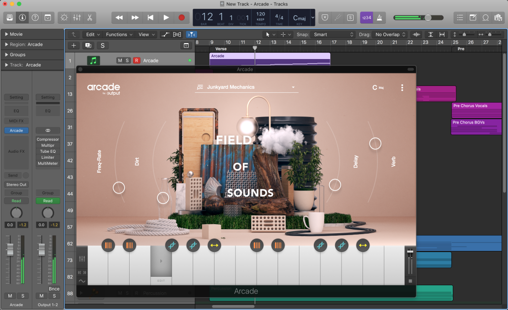 Output's Arcade is a cloud-based loop library you play as an instrument