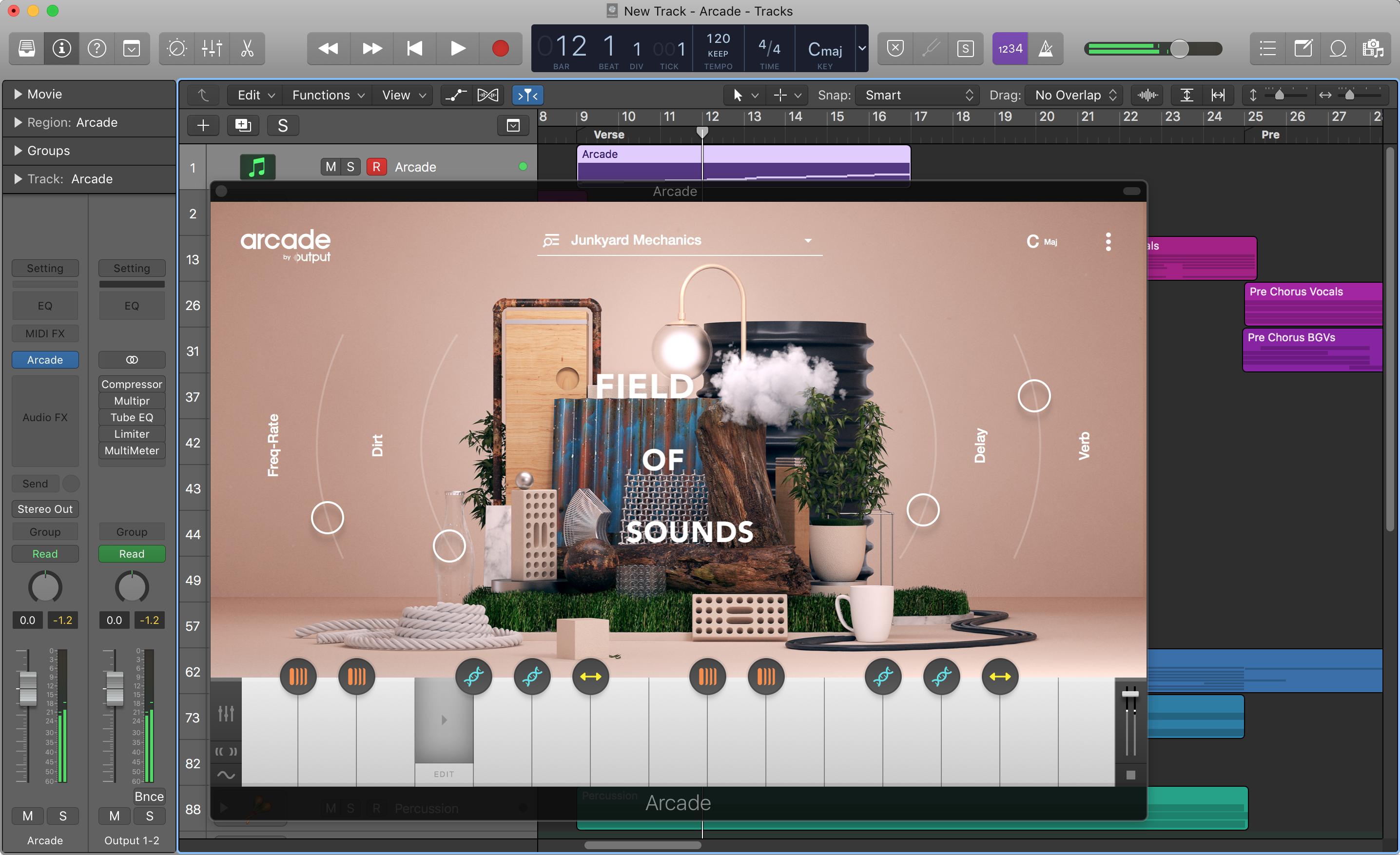Output's Arcade is a cloud-based loop library you play as an
