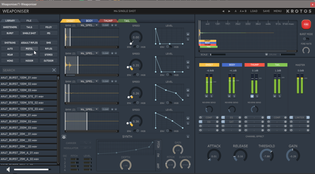 This plug-in is a secret weapon for sound design and drums