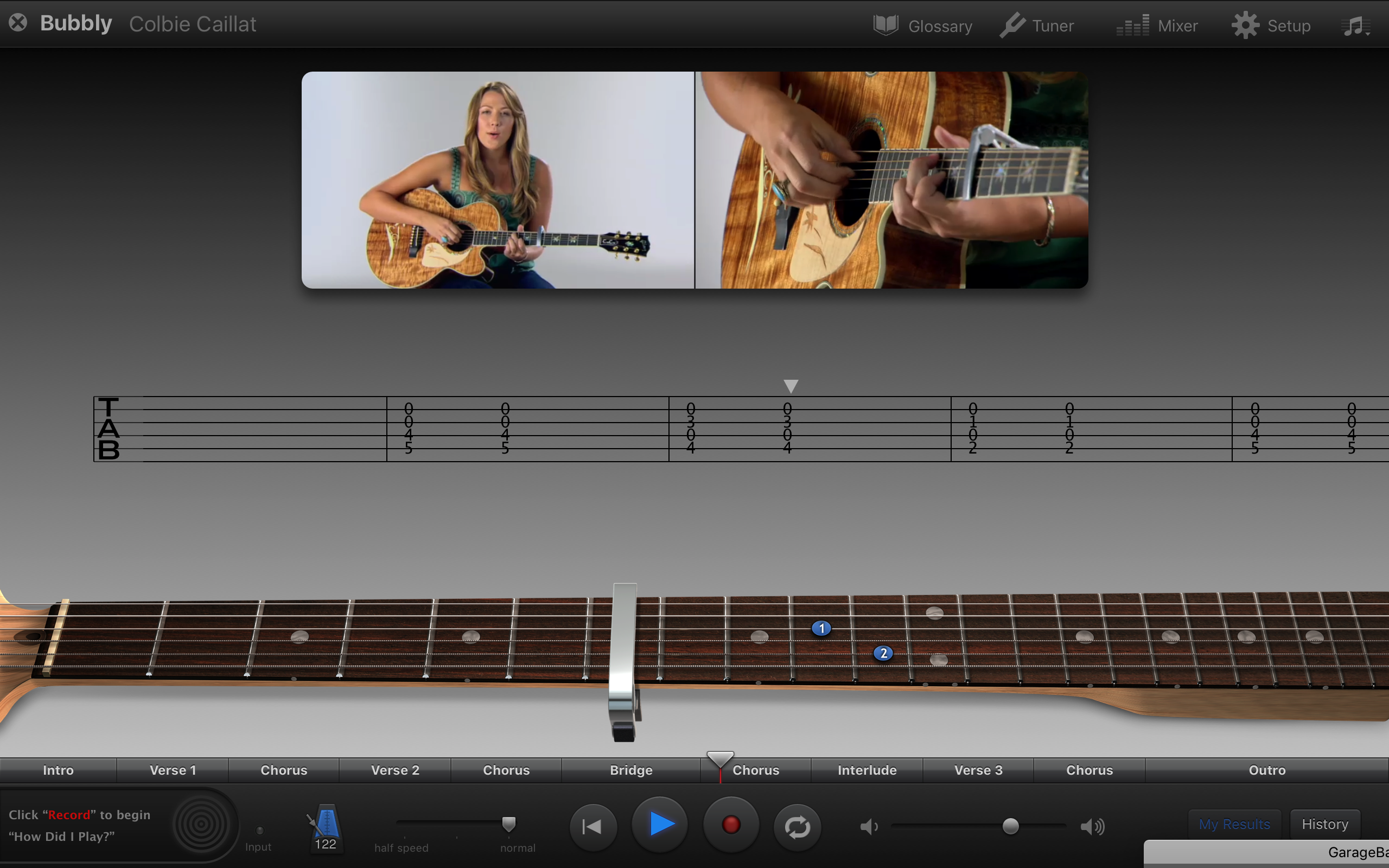 Apple's latest GarageBand will help you learn an instrument, for