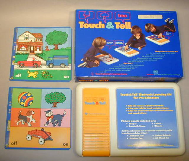 The strange, cartridge-powered speech of TI Touch & Tell