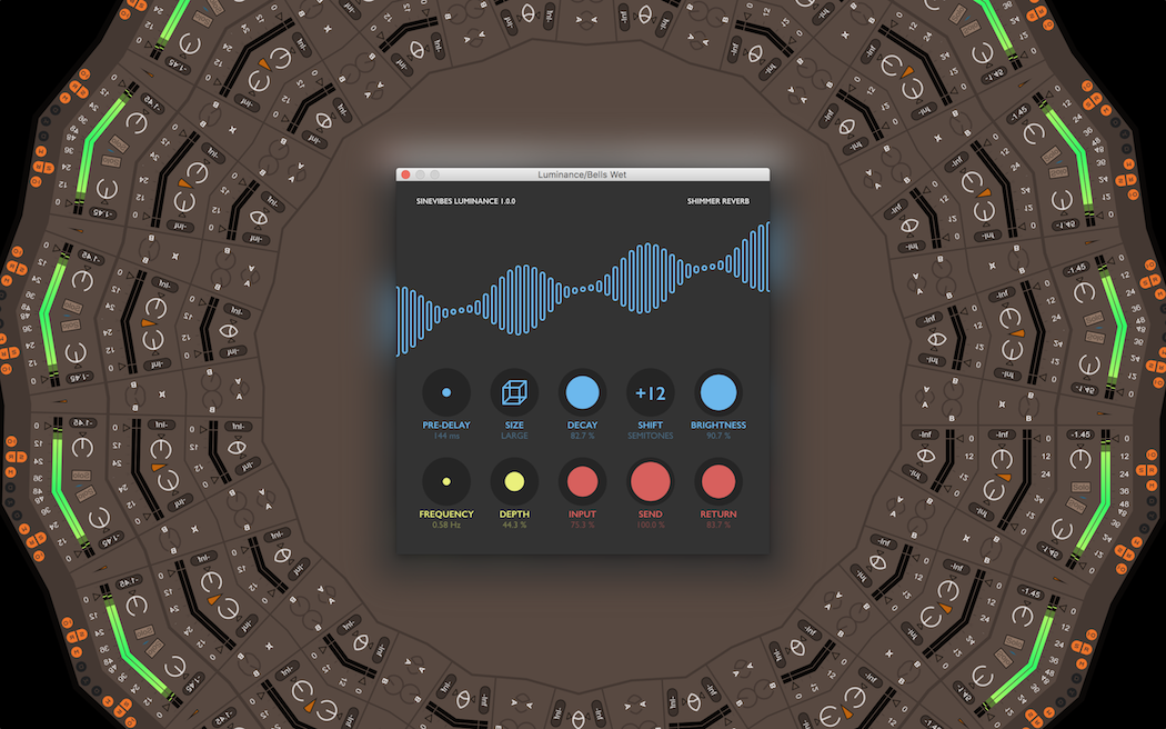 Luminance adds shimmery reverb to your sound - and it's a runaway hit