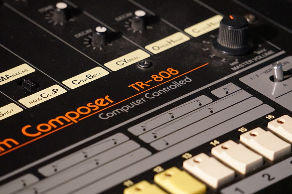 This may be the 808 Marvin Gaye used to make 'Sexual Healing'