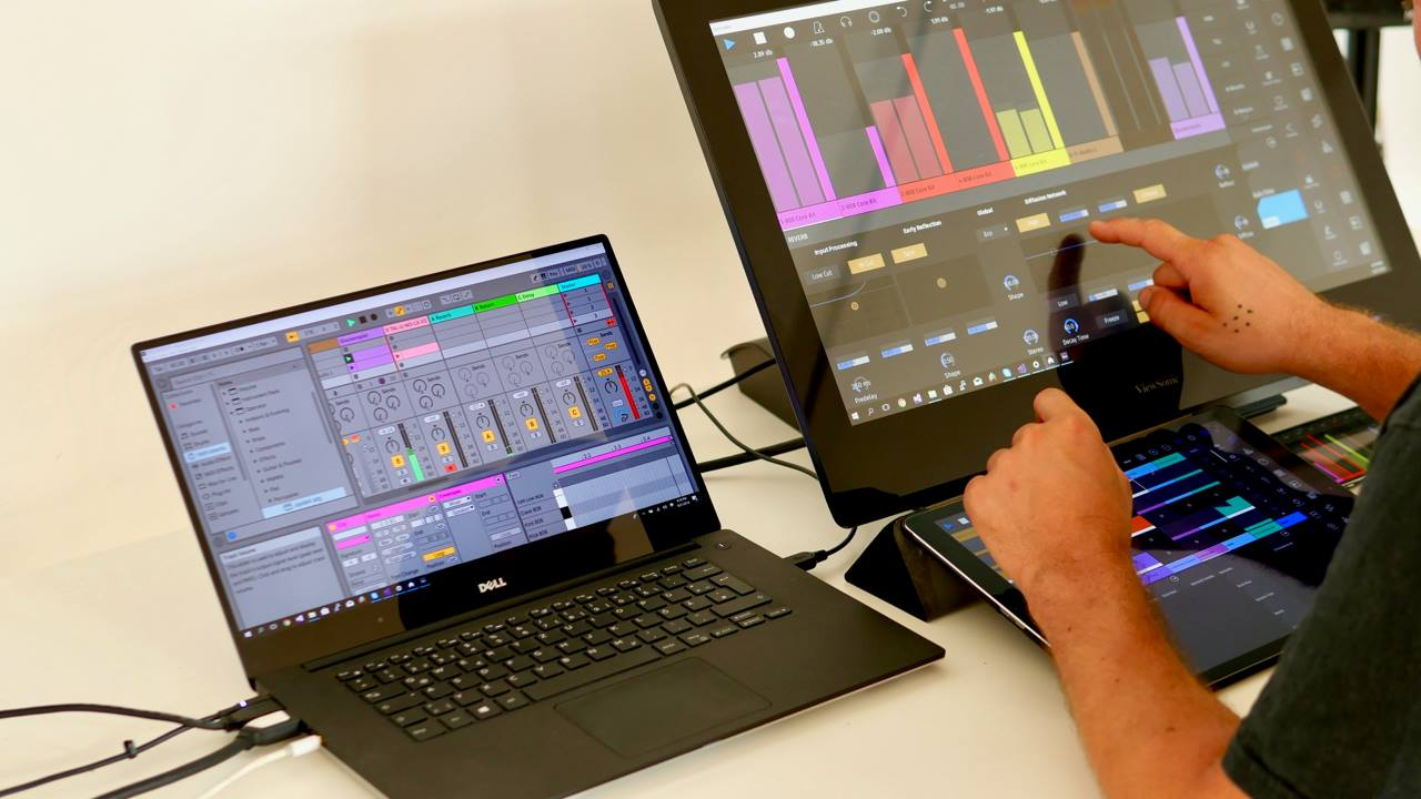 touchAble Pro for Ableton Live: touch control on iOS, Android, Windows
