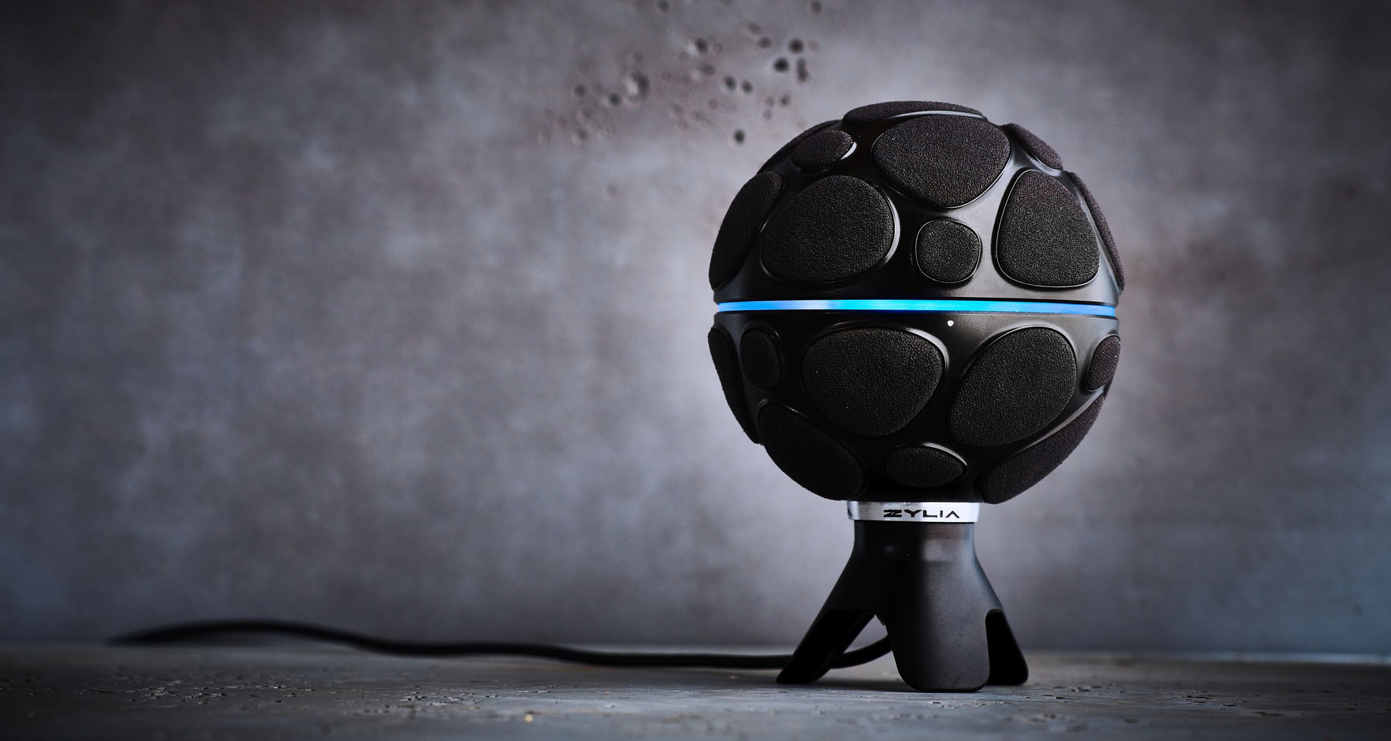 """Ambisonics mics that record in """"3d"""" and ambisonics are the next big"""