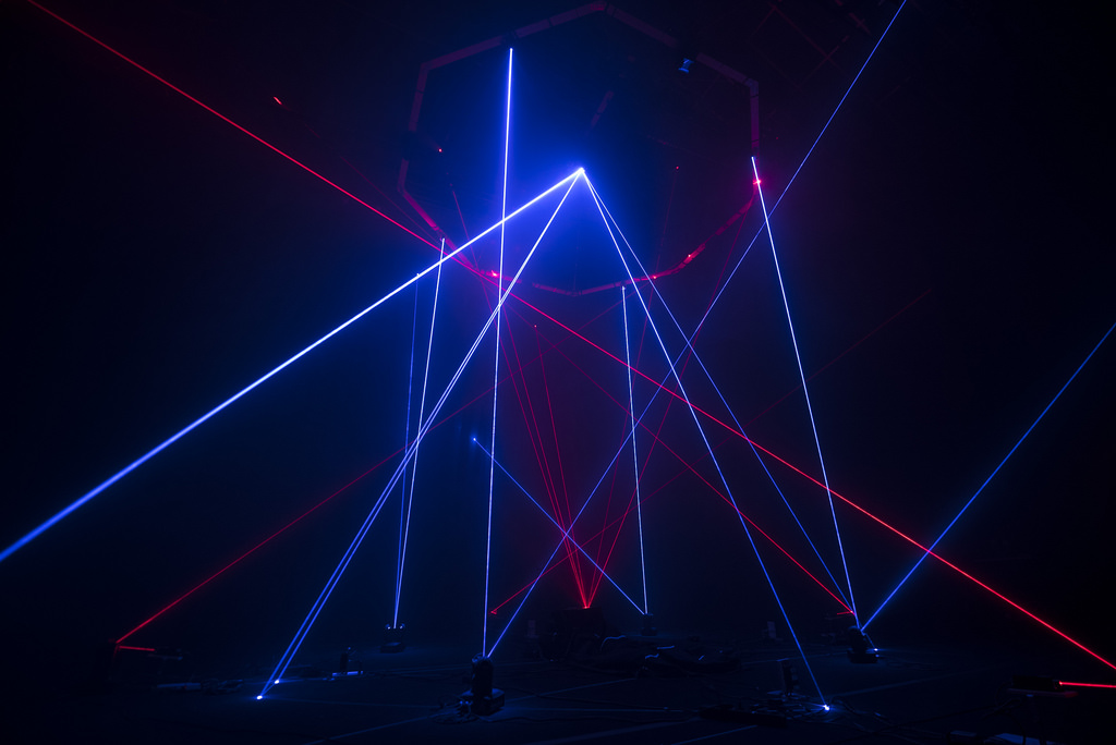 This light sculpture plays like an instrument, escaped from Tron - CDM Create Digital Music