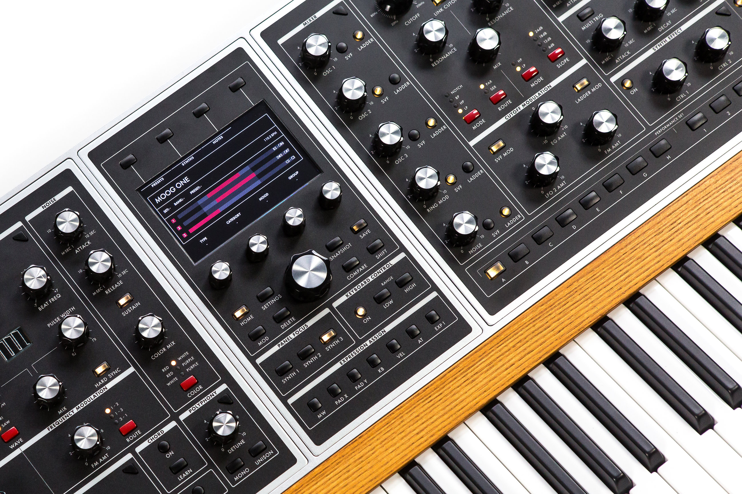 Moog reveal their first polysynth in decades - inside the