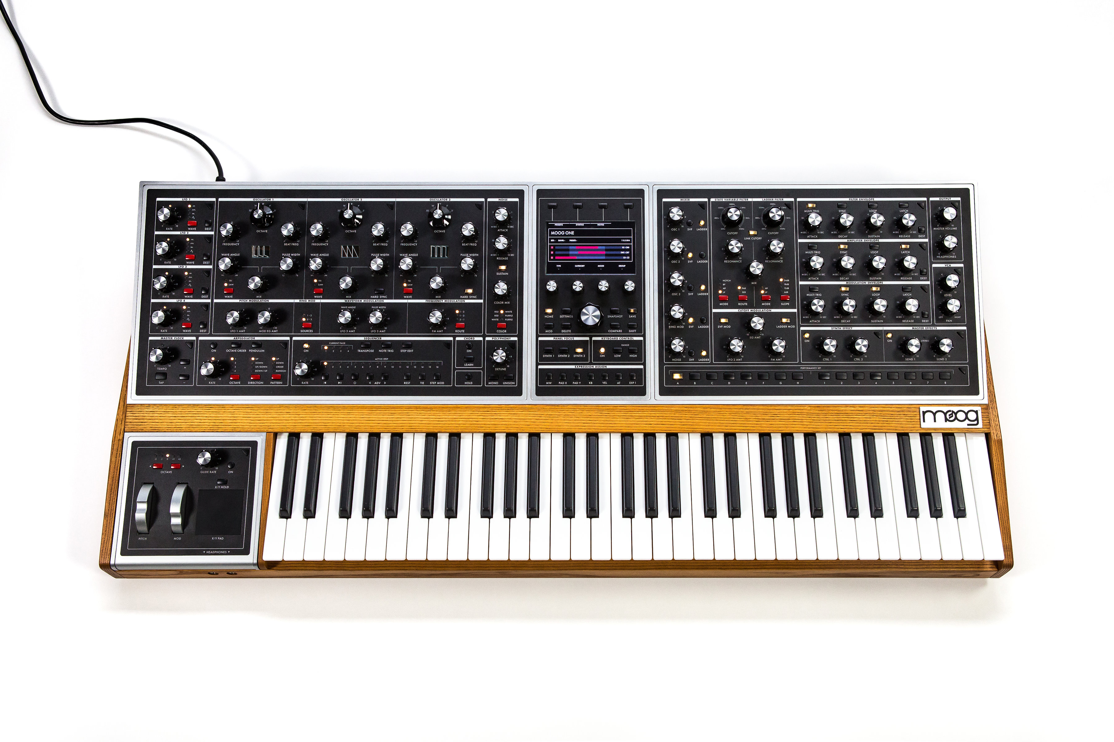 Moog reveal their first polysynth in decades - inside the Moog One