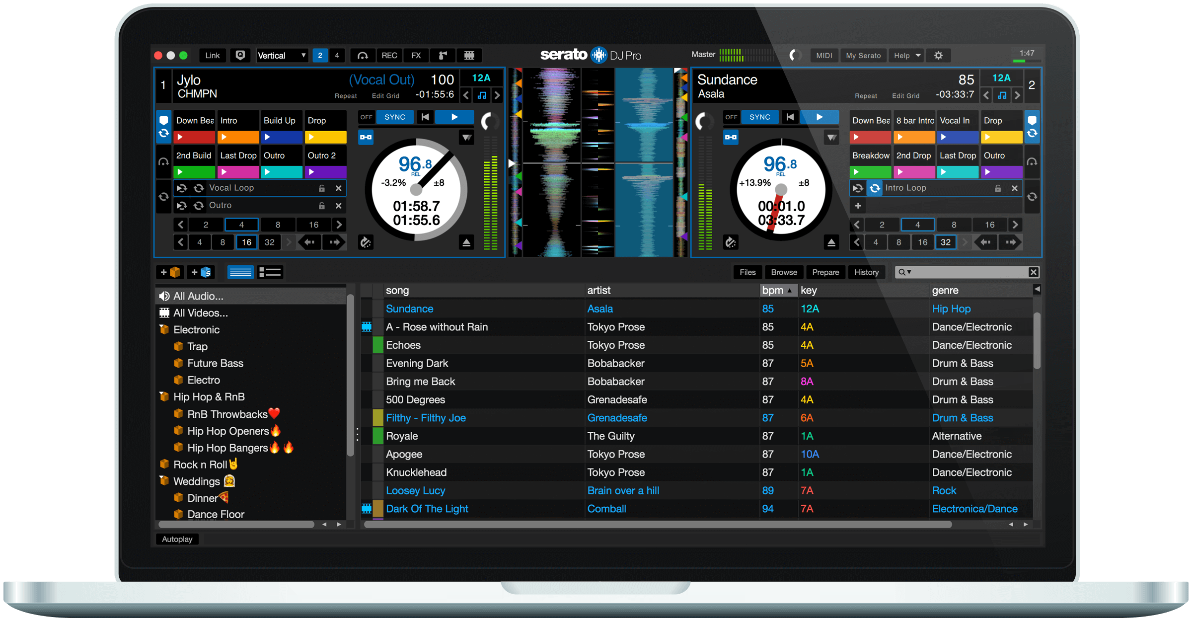 Streaming music is coming to DJ software, but one step at a time