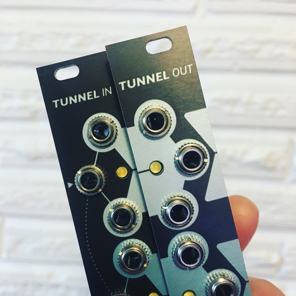 TUNNELS imagines Eurorack if you could multiply and patch anywhere