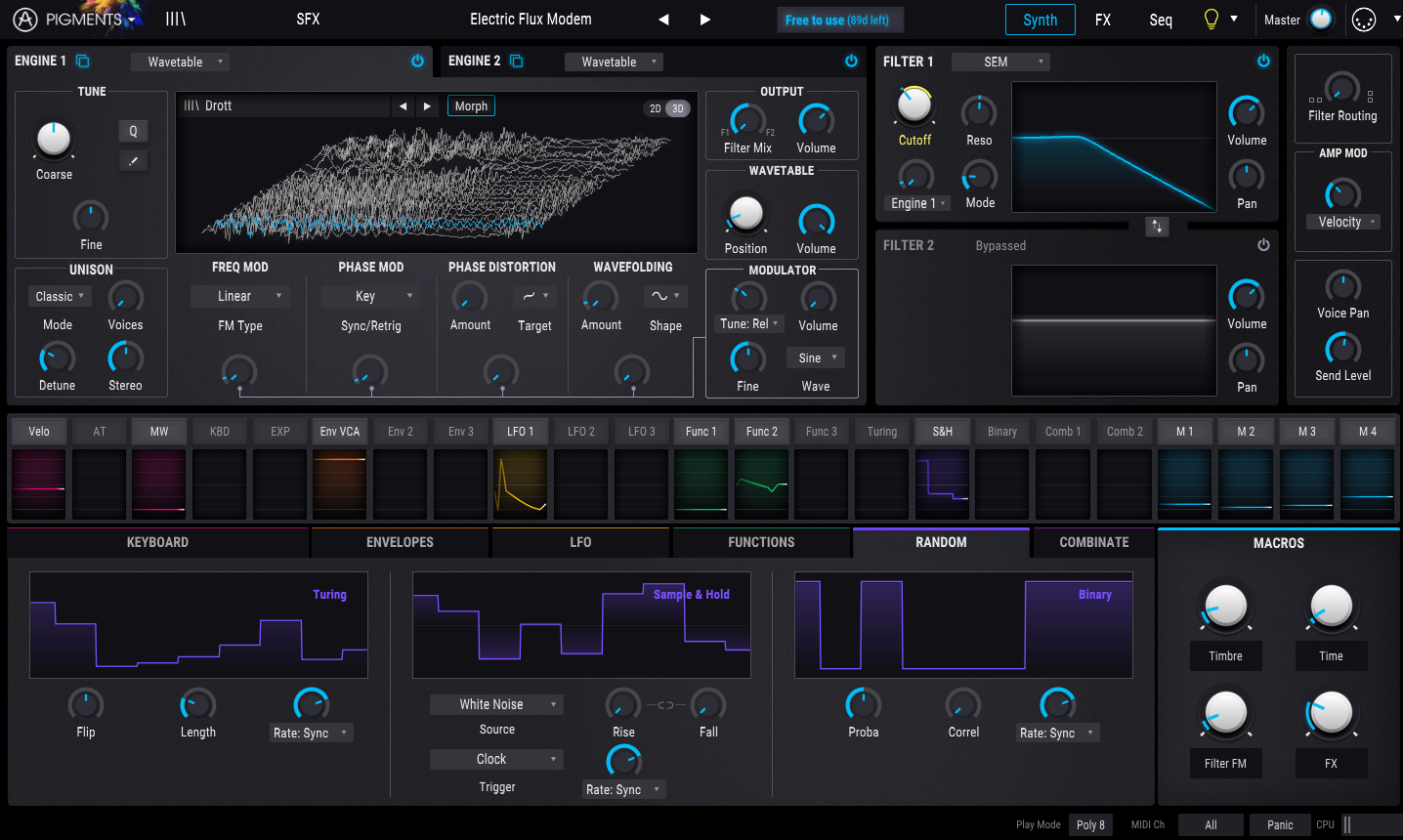 Pigments is a new hybrid synth from Arturia, and you can try it free now
