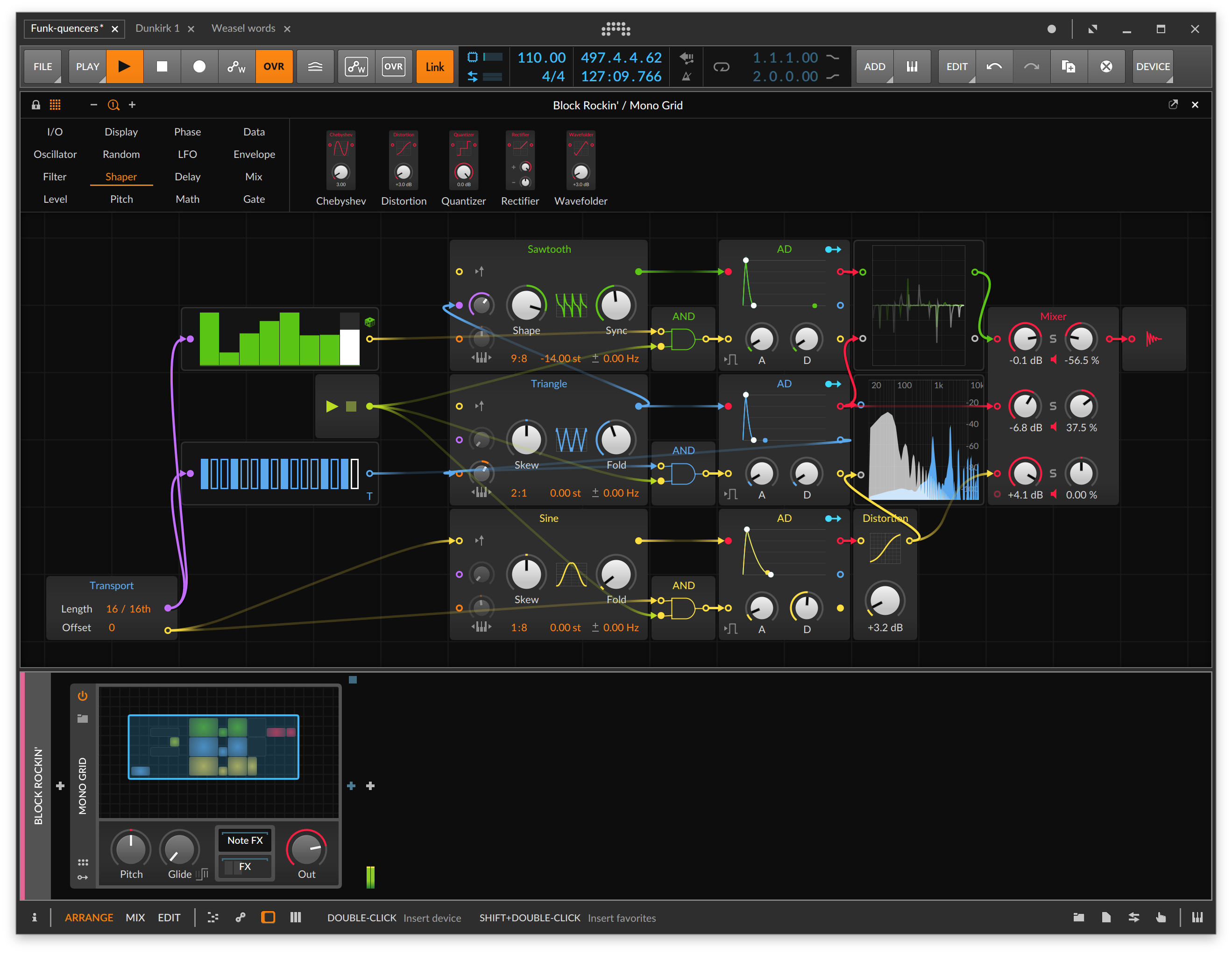 Bitwig Studio is about to deliver on a fully modular core in