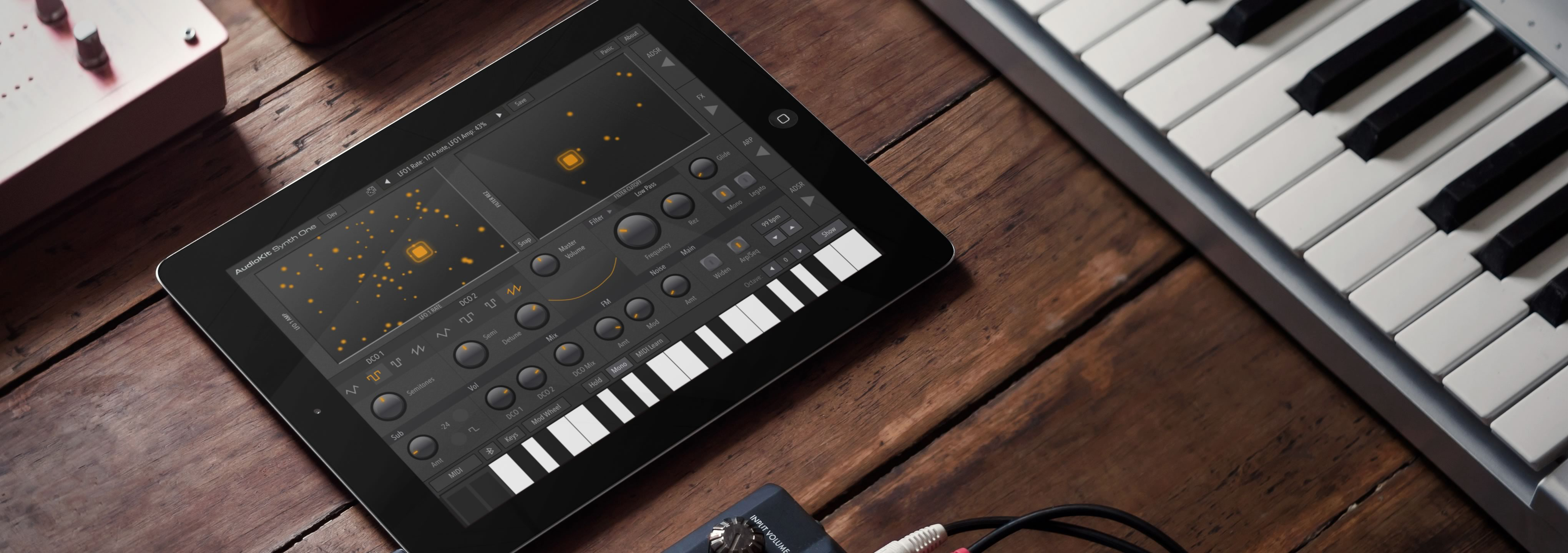 Synth One is a free, no-strings-attached, iPad and iPhone synthesizer